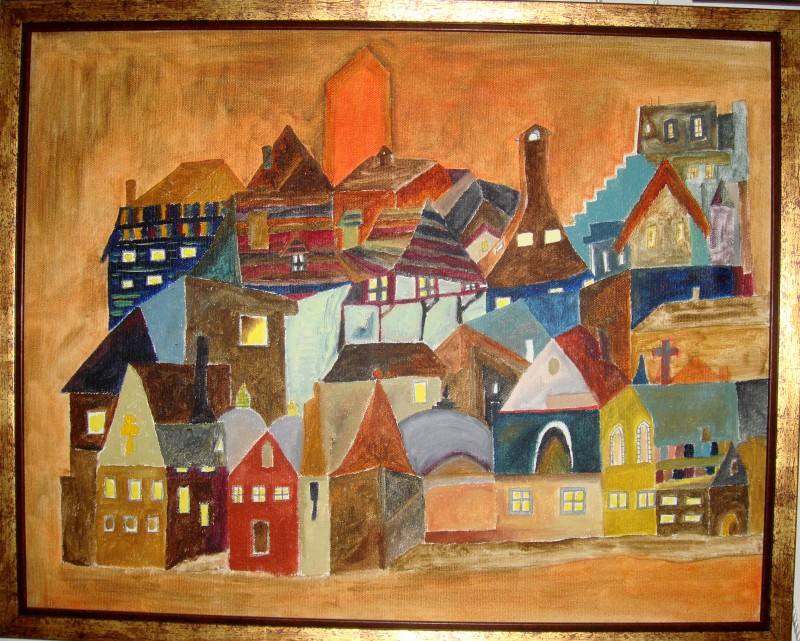 Orange city                                      SOLD